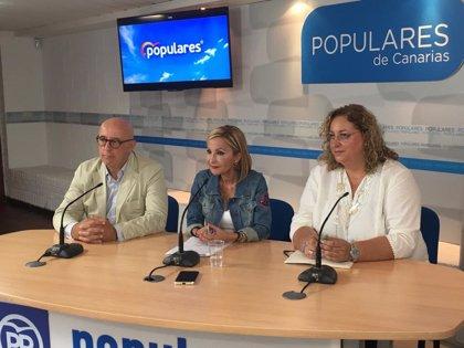 """El PP acusa al consejero canario de Hacienda de """"cínico"""" al decir que las subidas fiscales no afectarán a los ciudadanos"""
