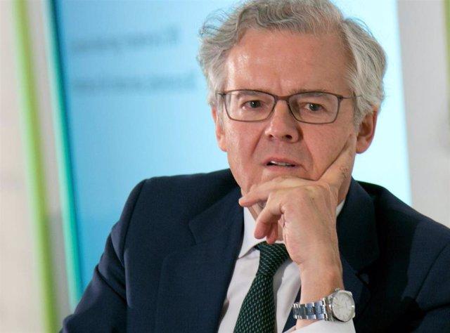 El presidente de la CNMV, Sebastián Albella, en una foto de archivo
