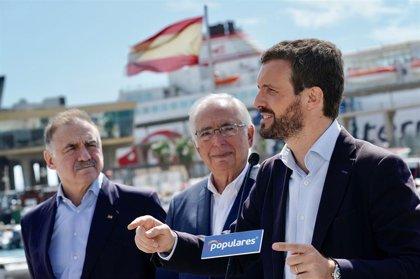 Casado promete pedir a Marruecos la reapertura de la frontera comercial con Melilla si es presidente del Gobierno