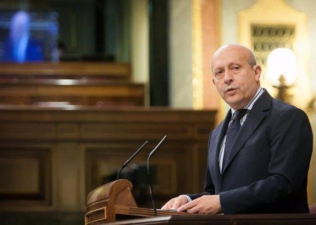 El ministre d'Educación, Cultura i Esports, José Ignacio Wert