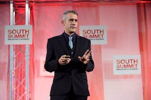 Jaime Gonzalo, vicepresidente de Huawei Mobile Services en Europa, en una conferencia en South Summit'19