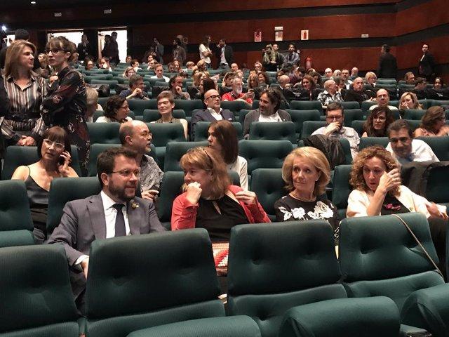 Inaugurat oficialment el 52 Festival de Sitges amb Torrent, Aragonès, Vilallonga i Capella