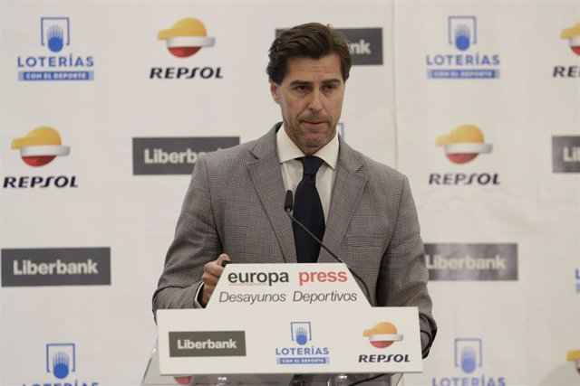 Raúl Chapado, en los Desayunos Deportivos de Europa Press.