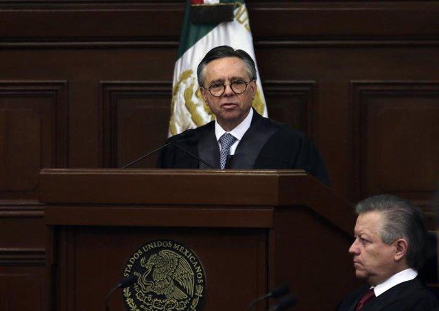 El ministro de la Suprema Corte de Justicia de la Nación (SCJN) Eduardo Medina Mora
