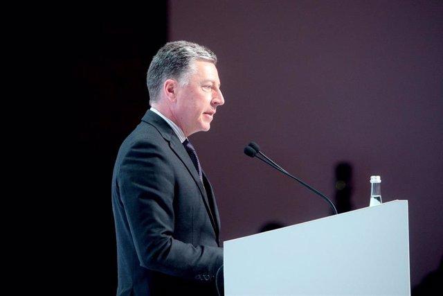 El enviado especial de Estados Unidos en Ucrania, Kurt Volker