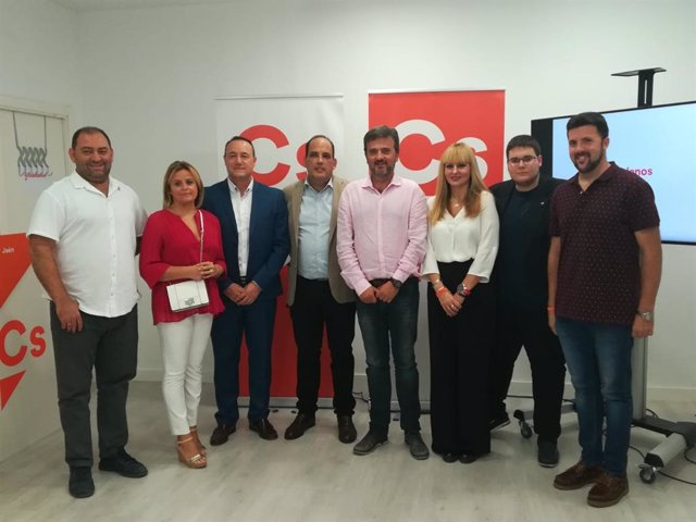 Junta directiva de Ciudadanos en la ciudad de Jaén