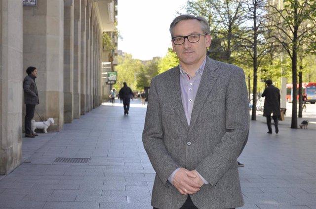 El presidente del PP Teruel, Joaquín Juste.