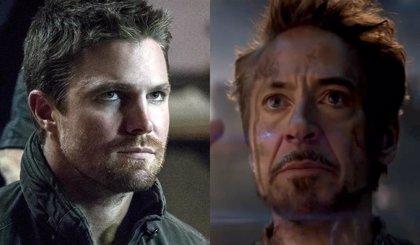 Stephen Amell desvela el destino de Oliver Queen en Crisis en Tierras Infinitas con un meme de Vengadores: Endgame