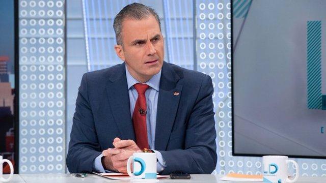Entrevista al secretario general de Vox, Javier Ortega Smith