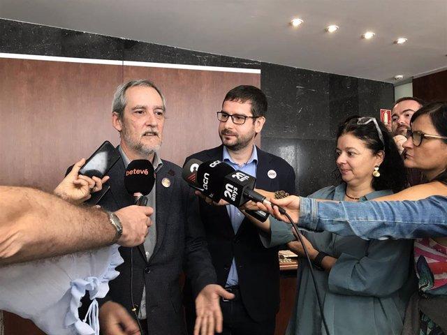 Jordi Coronas y Jordi Castellana (ERC)