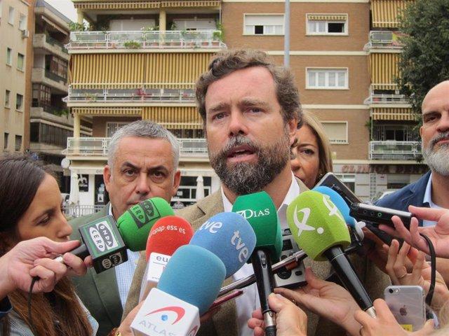 El portavoz del Grupo Vox, Iván Espinosa de los Monteros