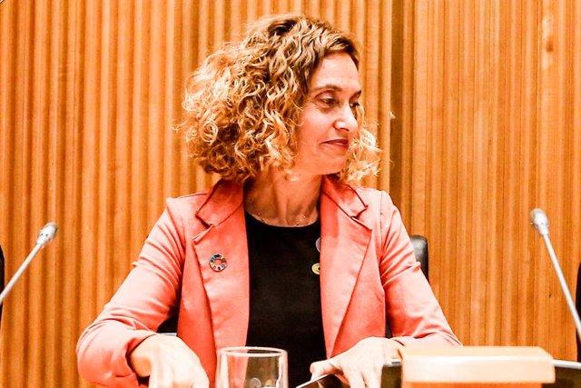 La presidenta del Congrés dels Diputats, Meritxell Batet, en una foto d'arxiu.