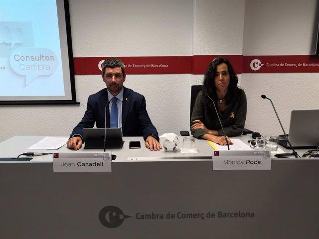 Joan Canadell i Mònica Roca