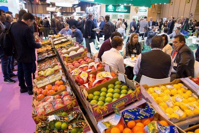Imagen de recurso de la feria Fruit Attraction, que se celebra en Ifema.