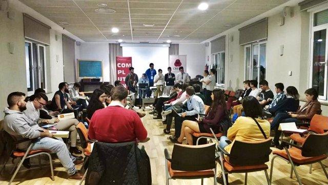 Reunión de la Coordinadora de Representantes de Estudiantes de Universidades Públicas.