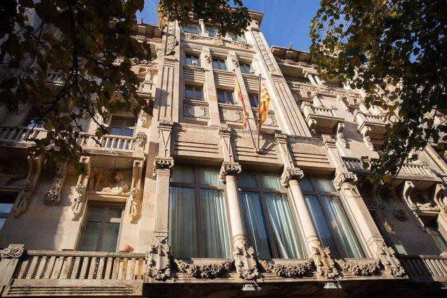 La Conselleria d'Economia de la Generalitat , divendres 4 d'octubre