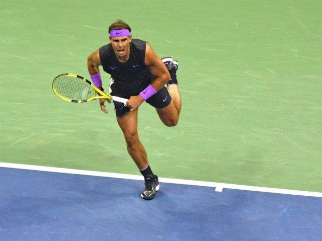 Rafa Nadal, a la final de la US Open 2019.
