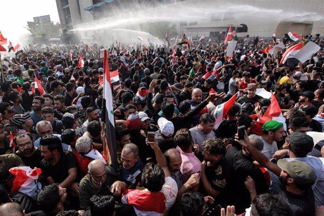 Protestas contra el Gobierno iraquí