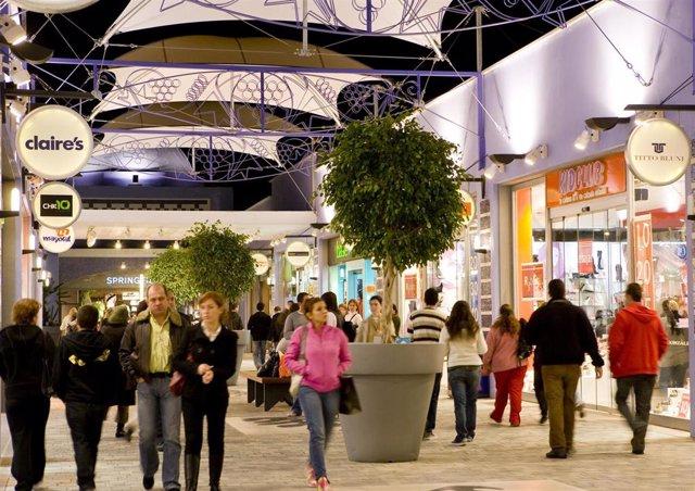 Sonae Sierra, compras, centros comerciales