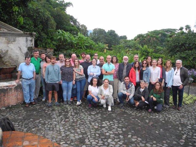 Participantes en la expedición de ayuda sanitaria de Quesada Solidaria.