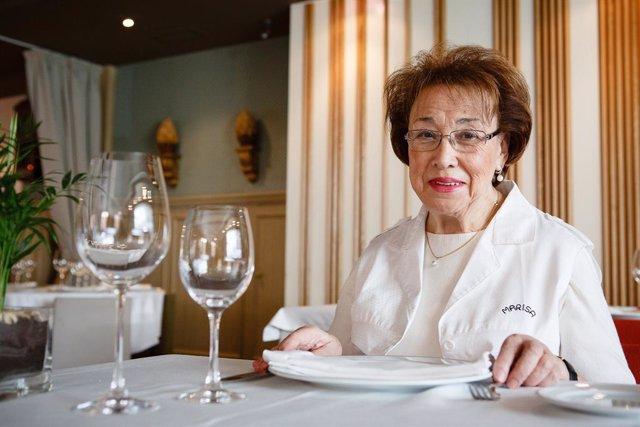 La cocinera, Marisa Sánchez, recibirá a título póstumo el premio 'Toda una vida'