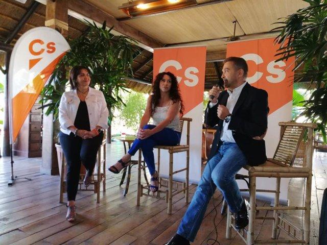 Rocío Ruiz participa en acto con afiliados de Cs en Córdoba