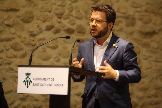 Pere Aragonès al Cavatast.