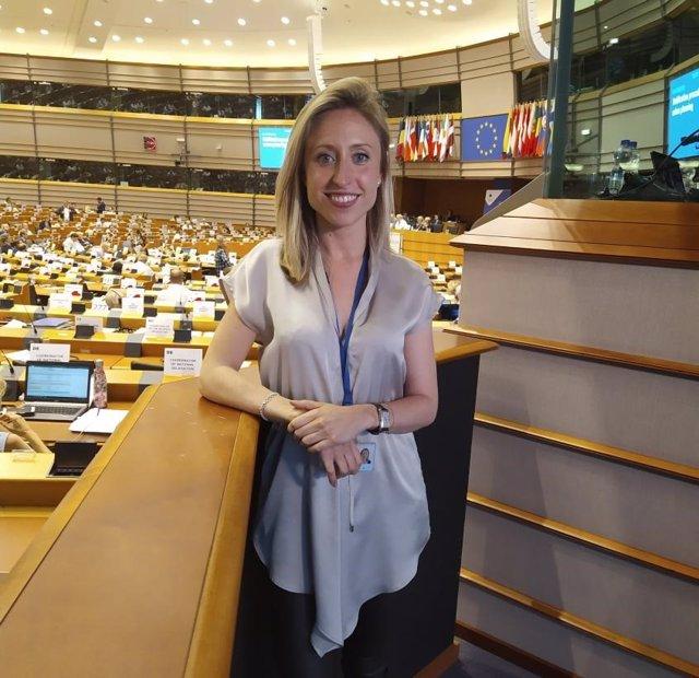 La directora general de Asuntos Europeos, Virginia Marco