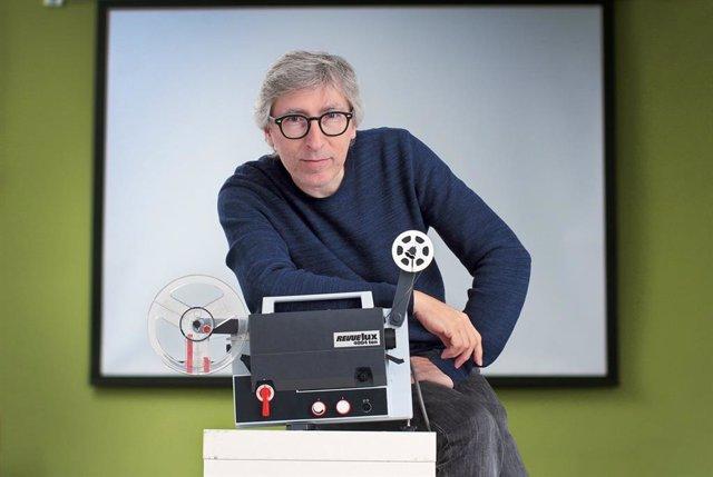 El director de Cine David Trueba en el festival Ja! Bilbao