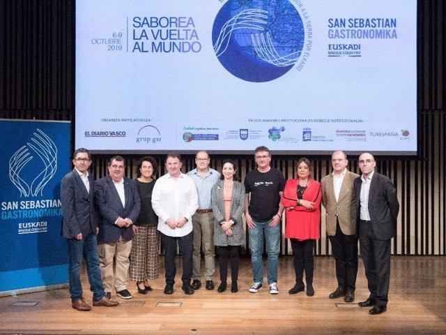 Gastronomika 2019 arranca este domingo en San Sebastián con su tradicional jorna
