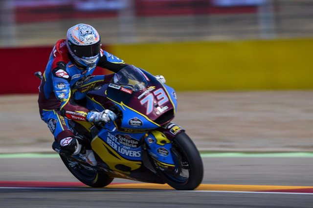73 MARQUEZ Alex (Spa) Marc VDS (Kalex), action during Moto 2 Aragon motorcycle Grand Prix 2019 from September 20 to 22, 2019 at MotorLand Aragon circuit in Spain - Photo Studio Milagro / DPPI