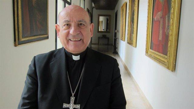 El arzobispo de Zaragoza, monseñor Vicente Jiménez
