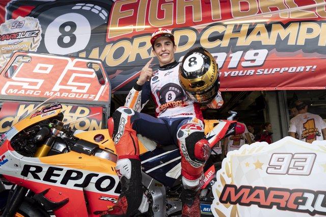Marc Márquez campeón MotoGP Valencia Comunitat Valenciana Cheste