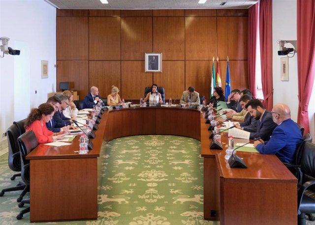 Reunión de la Junta de Portavoces, en una imagen de archivo.