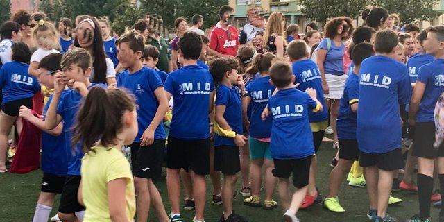 Participantes en los Módulos de Iniciación Deportiva en Alcalá de Guadaira