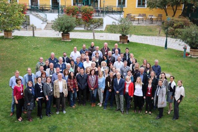 Representantes de la Consejería, junto a miembros de los 21 países participantes en el Seminario de Europea Internacional celebrado en Finlandia