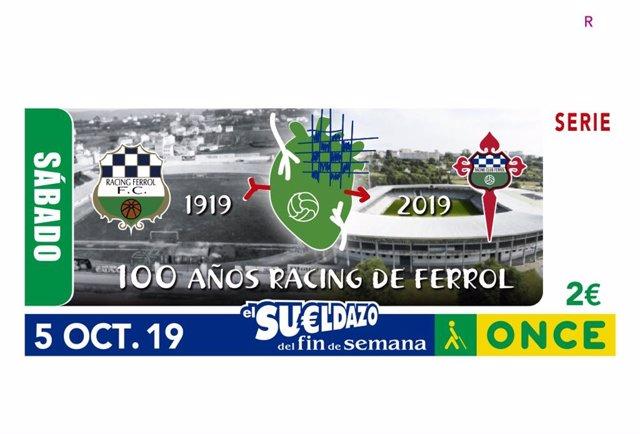 Presentación Cupón Centenario Racing De Ferrol