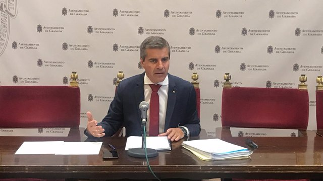 El portavoz del Grupo Municipal del PP, César Díaz.