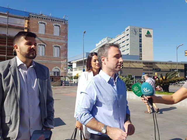 El candidato de Ciudadanos al Congreso por Málaga y miembro de la dirección nacional