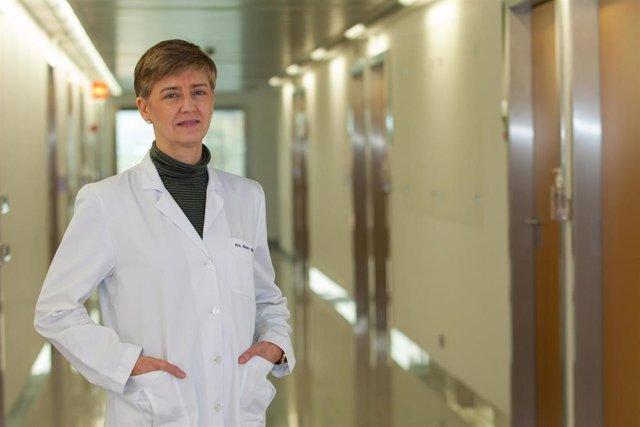 Mari Cruz Rodríguez Oroz, directora del Departamento de Neurología, en la Clínica Universidad de Navarra