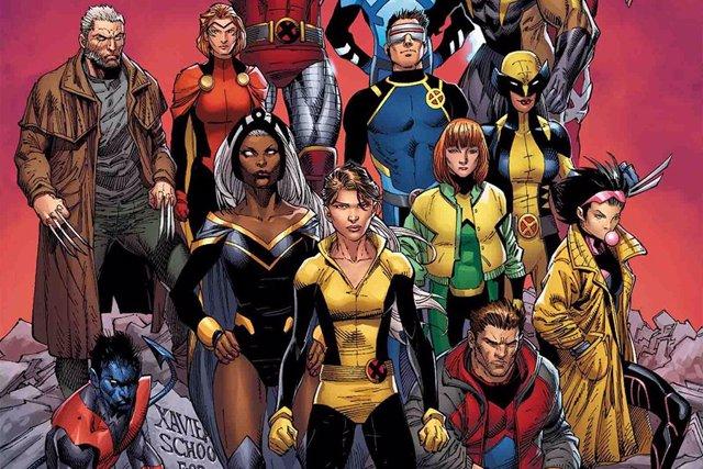 X-Men en los cómics de Marvel