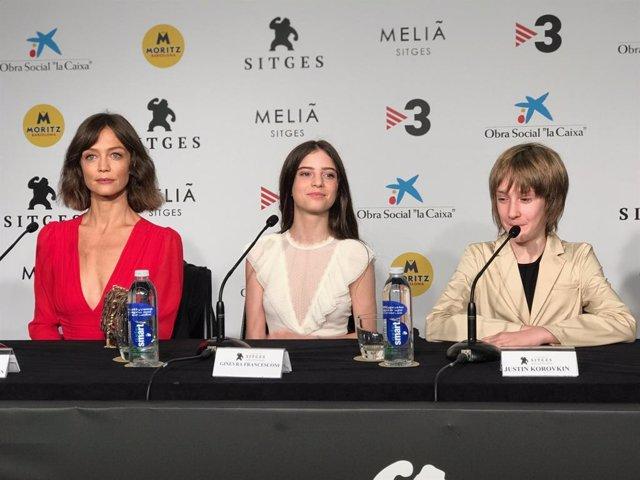 Francesca Cavallin, Ginevra Francesconi i Justin Korovkin