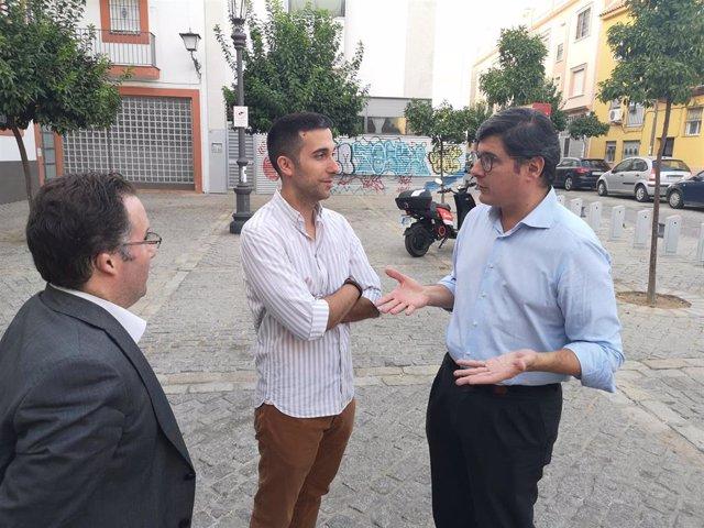 Visita a San Marcos de Álvaro Pimentel