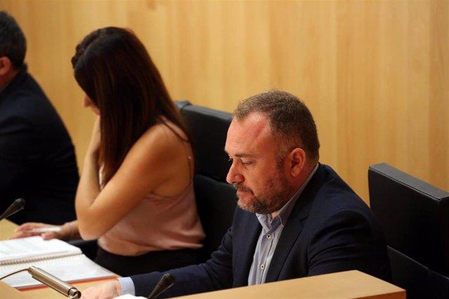 El diputado del PSOE en la Diputación de Málaga Luis Guerrero.