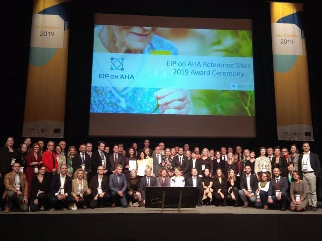 Extremadura recibe un diploma de la UE