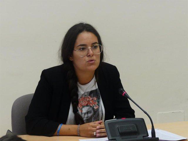 La diputada de Común da Esquerda Luca Chao