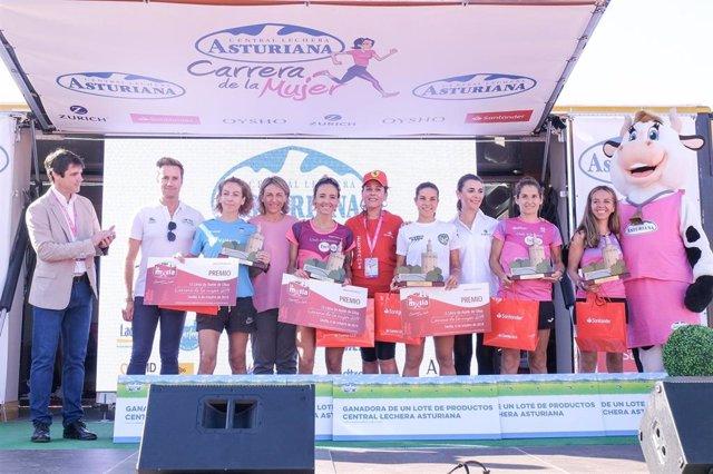 Carolina Robles gana por tercera vez la Carrera de la Mujer de Sevilla