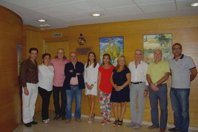 Junta de Gobierno del Colegio de Enfermería de Granada.