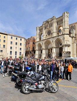 Encuentro motero organizado por Ciudadanos en Cuenca