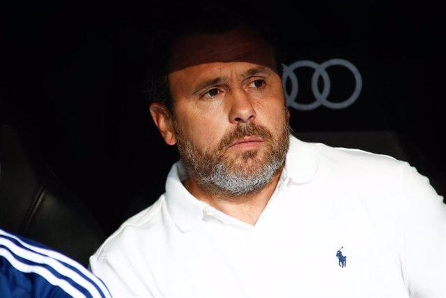 Sergio González, entrenador del Real Valladolid.